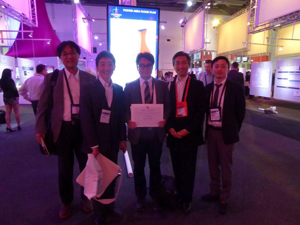 ESC Congress 2015 BEST POSTER賞 受賞